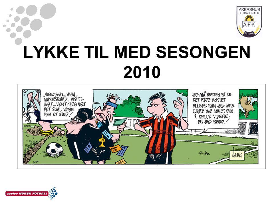 LYKKE TIL MED SESONGEN 2010