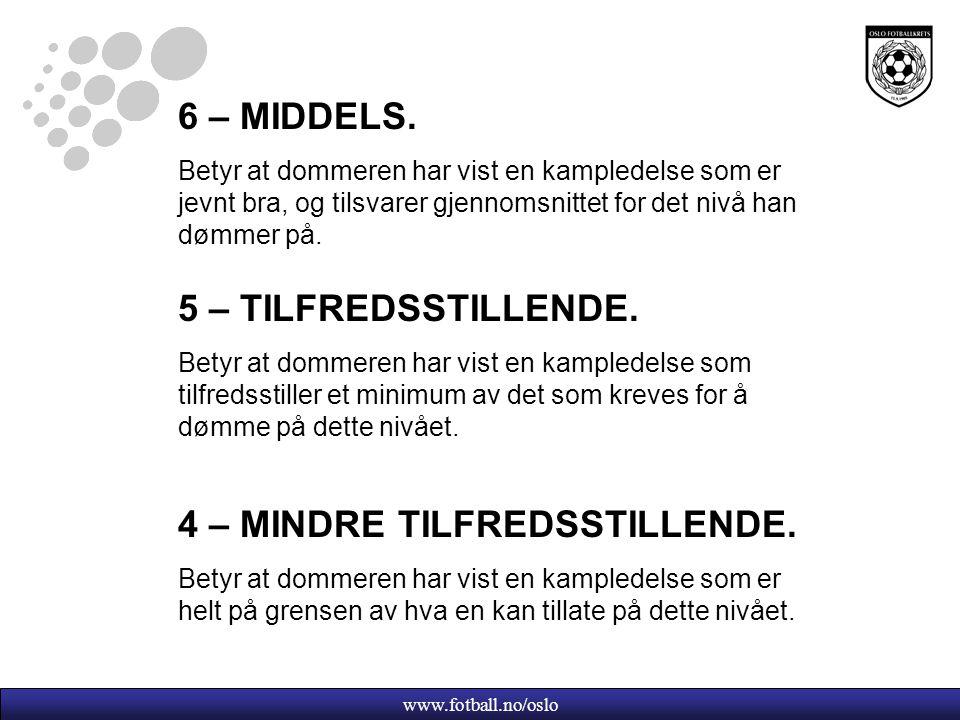 www.fotball.no/oslo 6 – MIDDELS.