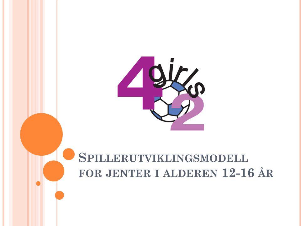 S PILLERUTVIKLINGSMODELL FOR JENTER I ALDEREN 12-16 ÅR