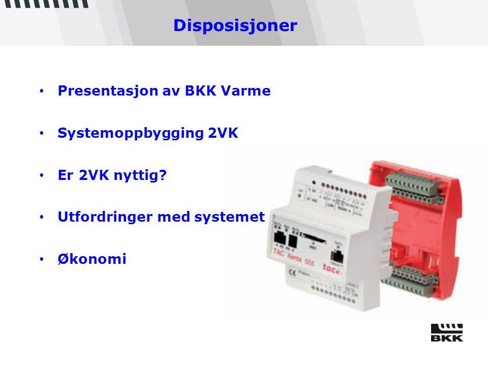 FJERNVARME I BERGEN BKK Varme 6 ansatte Investert for 800 mill.kr.