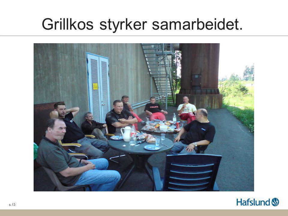 s.13 Grillkos styrker samarbeidet.