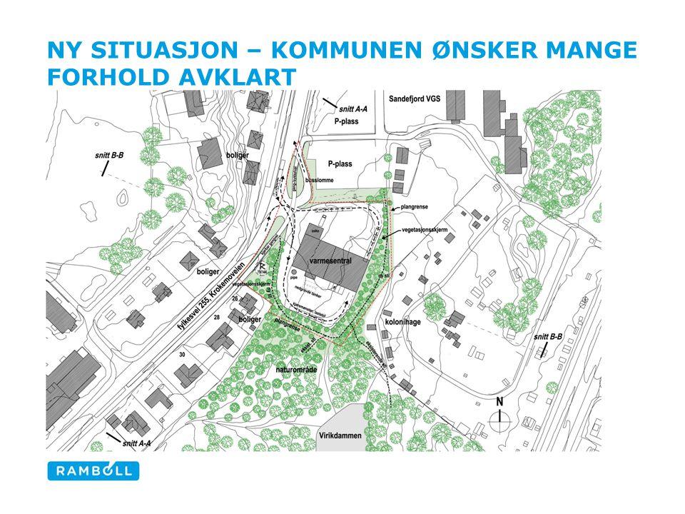 NY SITUASJON – KOMMUNEN ØNSKER MANGE FORHOLD AVKLART