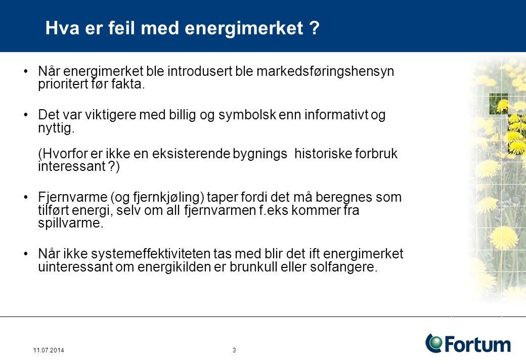 Hva er feil med energimerket ? Når energimerket ble introdusert ble markedsføringshensyn prioritert før fakta. Det var viktigere med billig og symbols