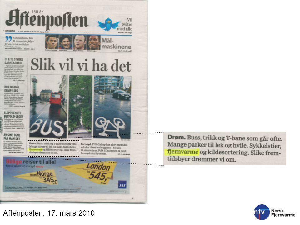 Aftenposten, 17. mars 2010