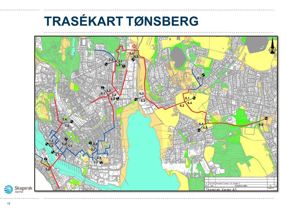 TRASÉKART TØNSBERG 12