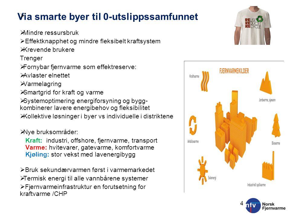 Fjernvarme og fjernkjøling i fremtidens energisystem: høy markedsandel med konkurransedyktig teknologi Autonomt system