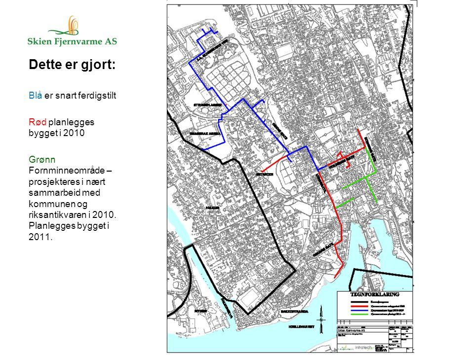 Plassering av varmesentral Planlagt på Nylende ved jernbanen/ABB (konsesjon) 17.