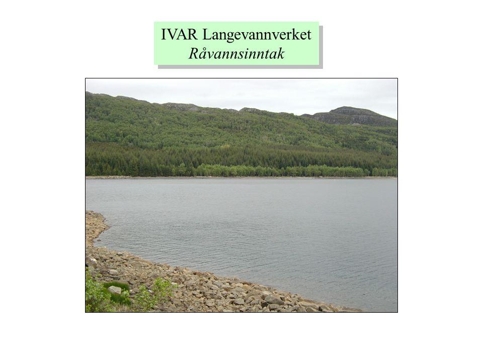 IVAR Langevannverket Råvannsinntak IVAR Langevannverket Råvannsinntak