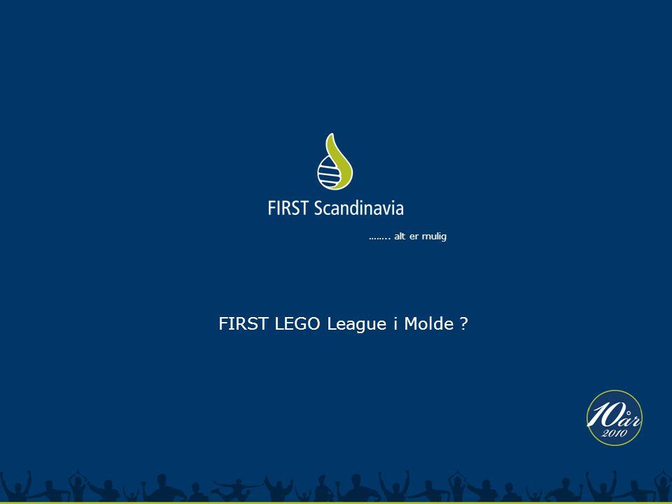 …….. alt er mulig FIRST LEGO League i Molde ?