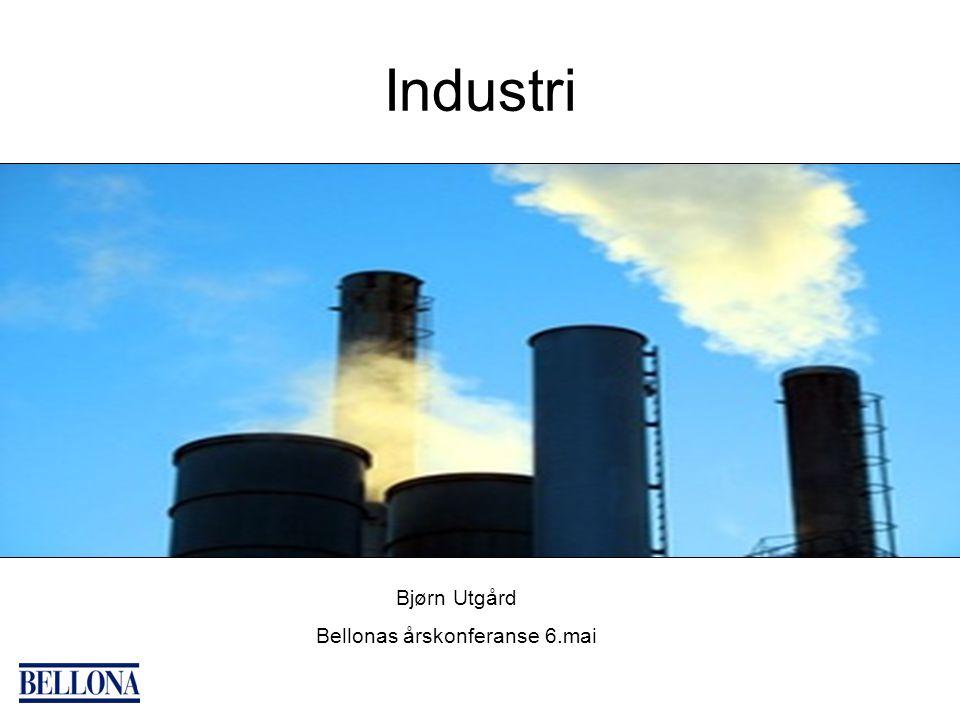 Industri Bjørn Utgård Bellonas årskonferanse 6.mai