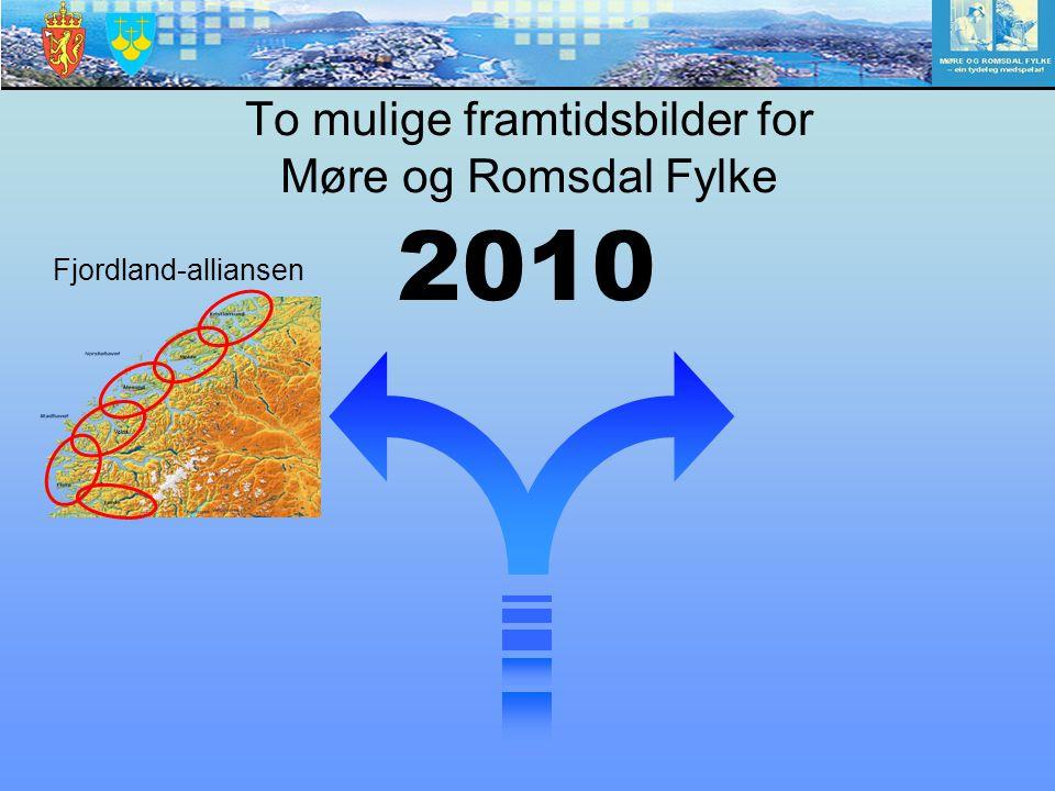 Volda Fjordland-alliansen To mulige framtidsbilder for Møre og Romsdal Fylke 2010