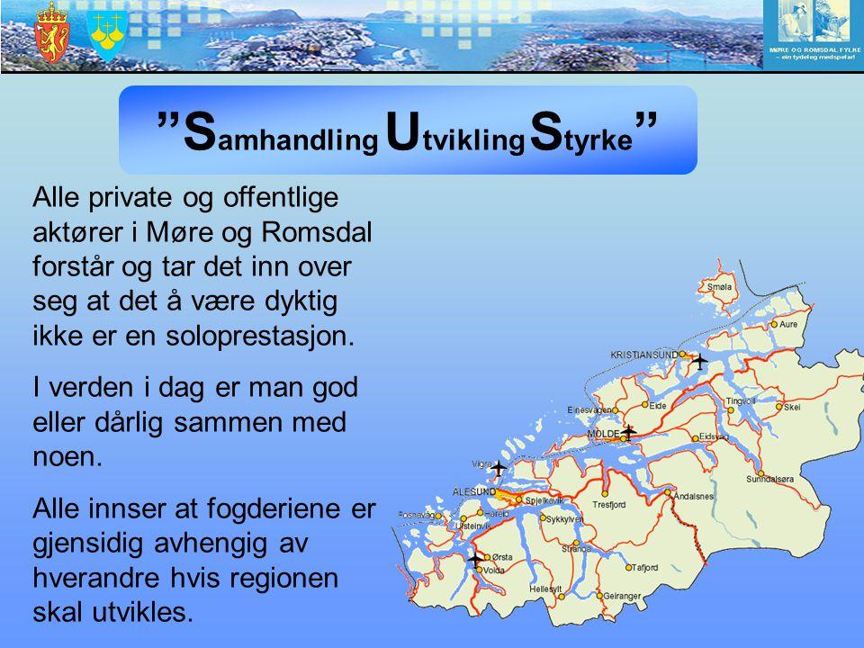 Alle private og offentlige aktører i Møre og Romsdal forstår og tar det inn over seg at det å være dyktig ikke er en soloprestasjon. I verden i dag er