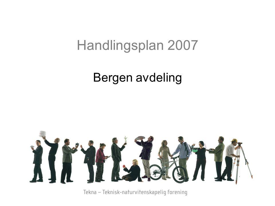 Handlingsplan 2007 Bergen avdeling