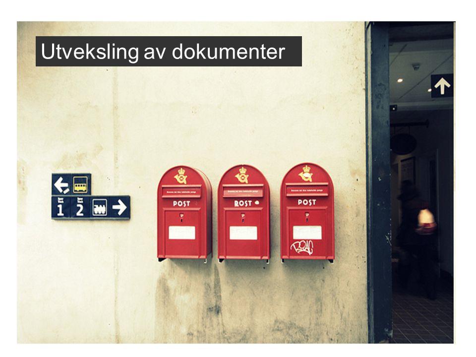 Utveksling av dokumenter
