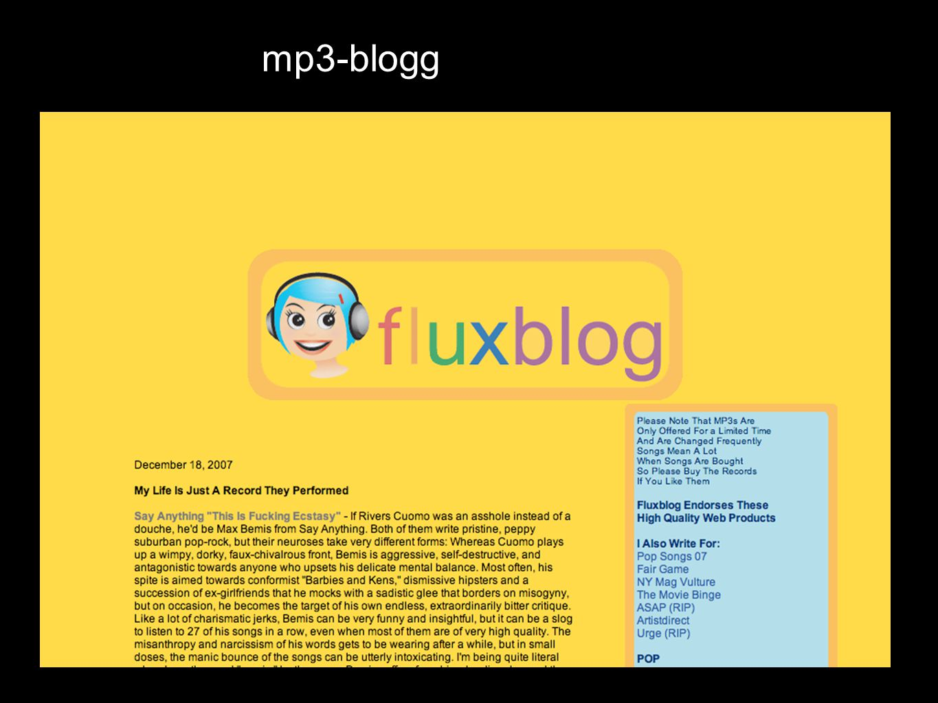 mp3-blogg