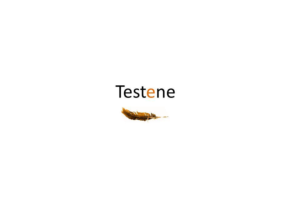 Testene