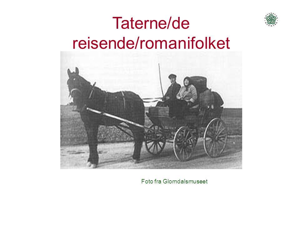 Foto fra Glomdalsmuseet Taterne/de reisende/romanifolket