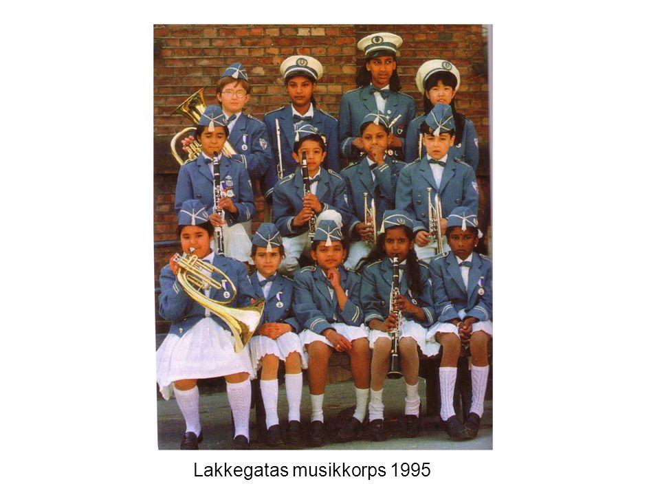 Lakkegatas musikkorps 1995