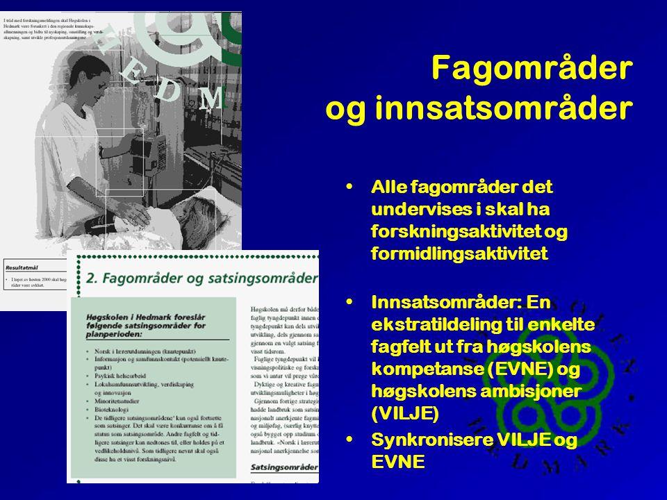 Hva er HH Visjon Verdigrunnlag Rammer Føringer