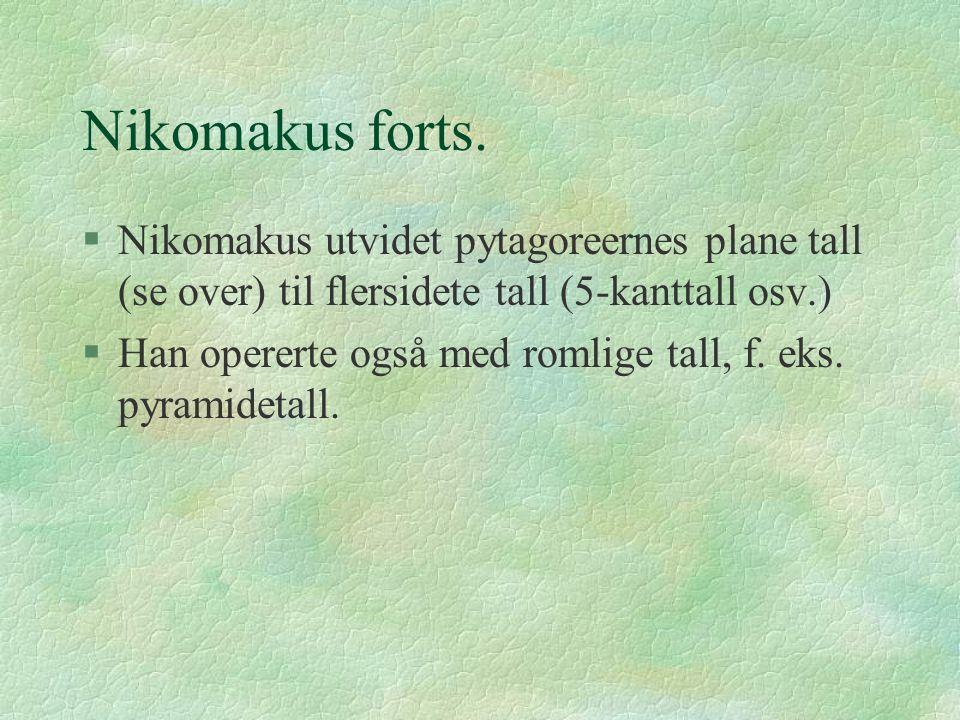 Nikomakus forts.