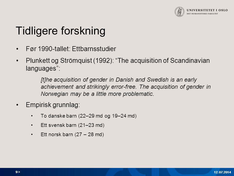 10 > Tilegnelse av genus hos tyske barn (Szagun & al.