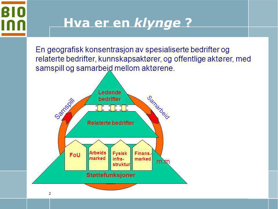 3 Kunnskapsparken Hedmark Norsvin, GENO, AquaGen, HiH GENO AquaGen Norsvin Norsvin Int.