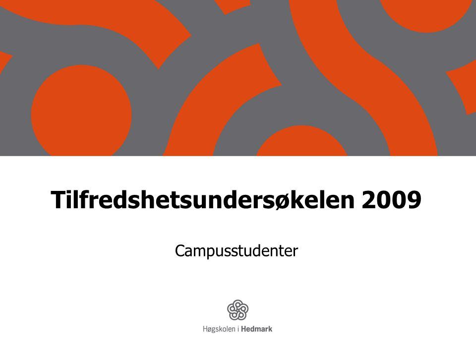 Tilfredshetsundersøkelen 2009 Campusstudenter