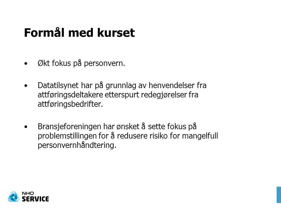 Styrende personvernhensyn Konfidensialitet –Vern mot uautorisert innsyn i pers.oppl.