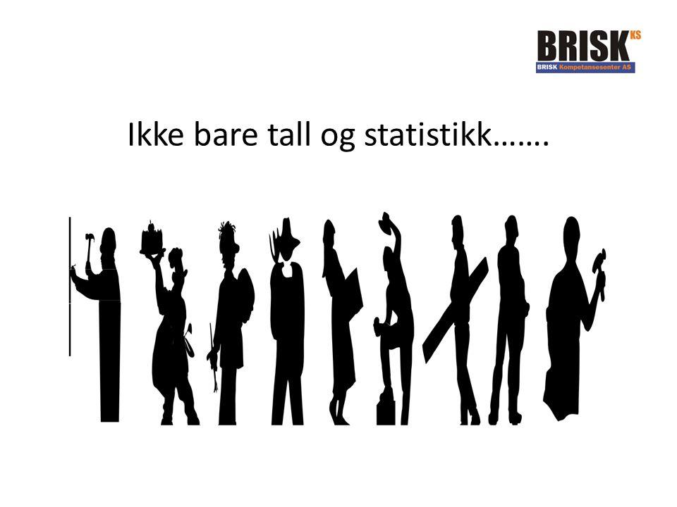 Ikke bare tall og statistikk…….