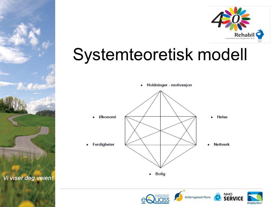 Vi viser deg veien! Systemteoretisk modell