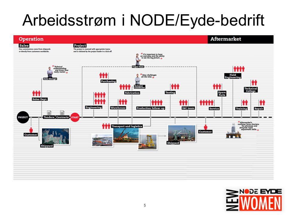 5 Arbeidsstrøm i NODE/Eyde-bedrift