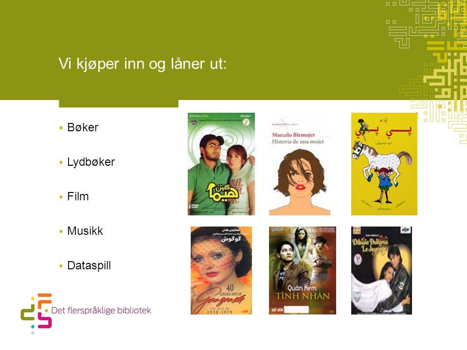 LENKE TIL FILMSNUTT HVA BETYR MORSMÅL FOR MEG , NAFO Våre nettsider ligger på: www.dfb.deichman.no