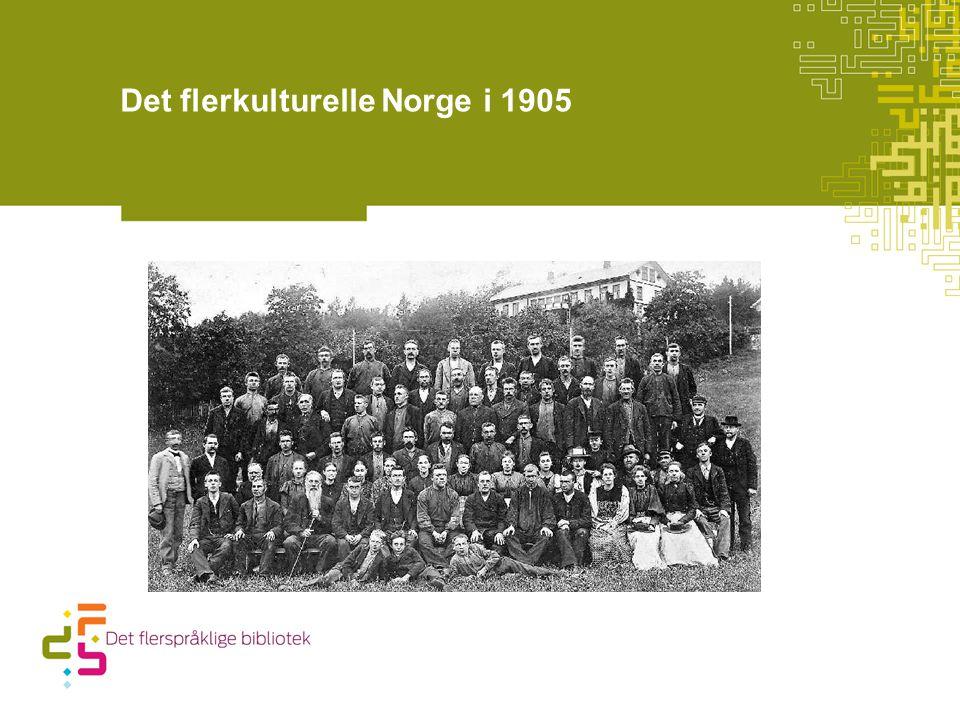 Det flerkulturelle Norge i 1905
