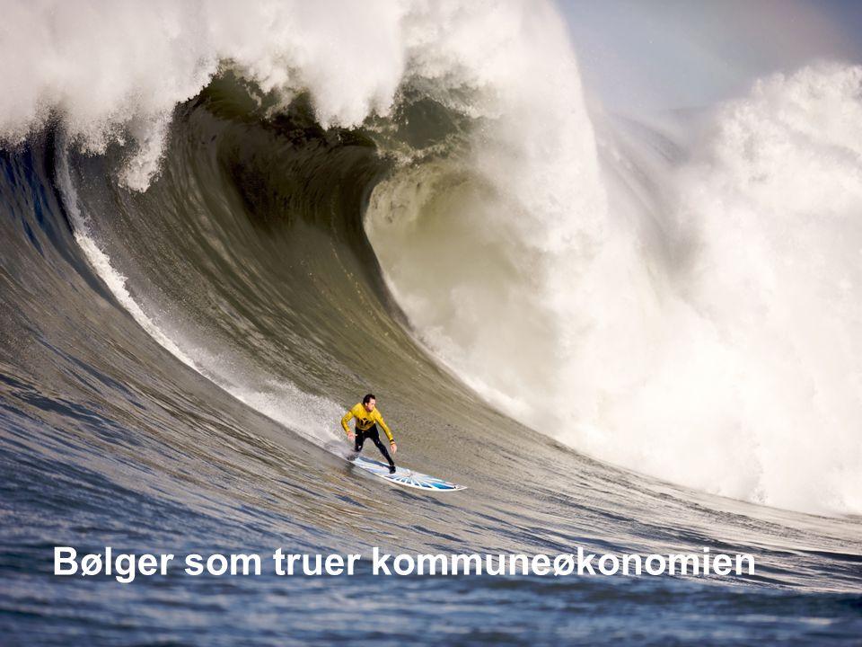 Bølger som truer kommuneøkonomien