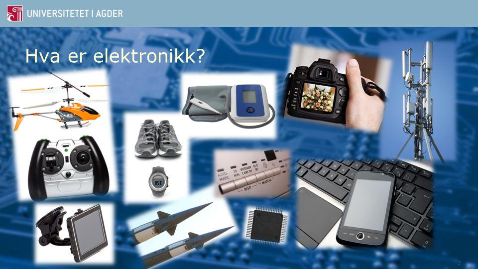 2 Hva er elektronikk?