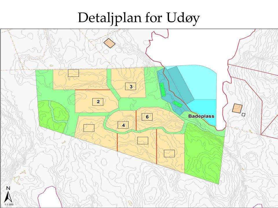 Detaljplan for Udøy