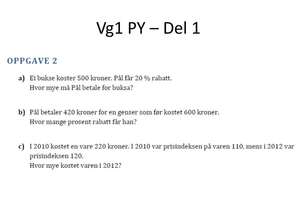 Vg1 PY - Del 2