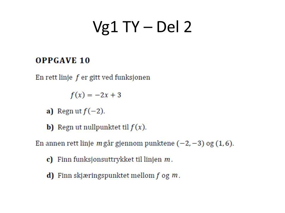Vg1 TY - del 2