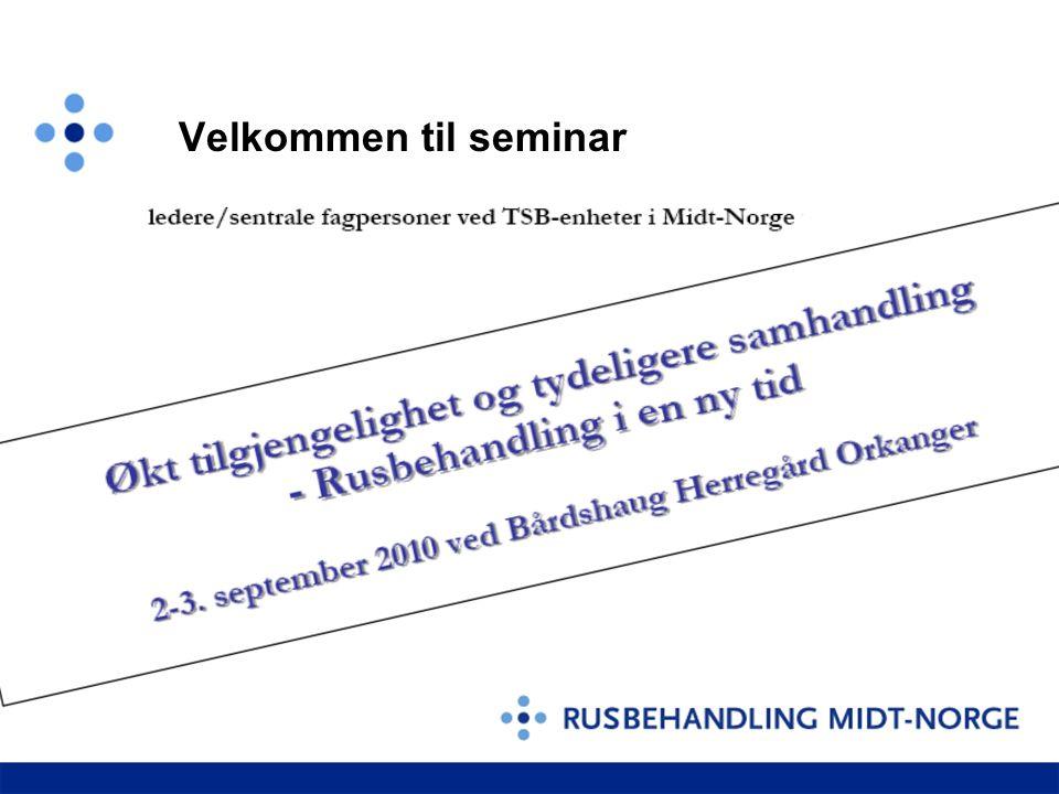 Velkommen til seminar
