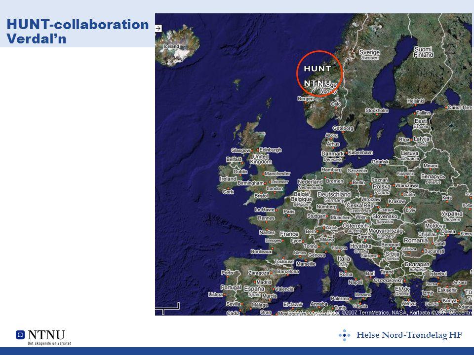 Helse Nord-Trøndelag HF HUNT-collaboration Verdal'n