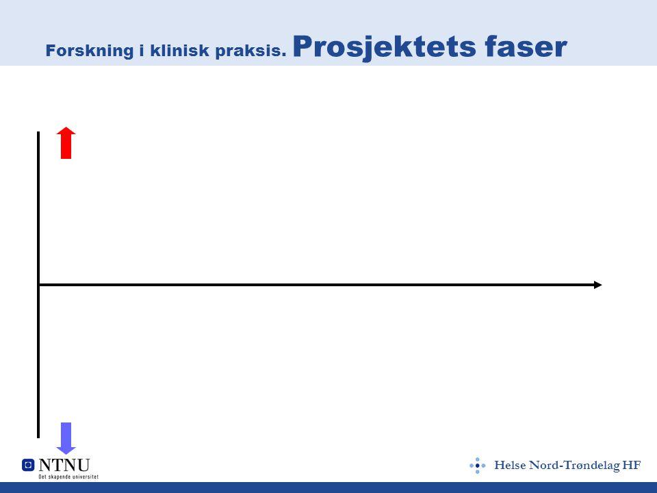 Helse Nord-Trøndelag HF Individuelle utfordringer (III) Selve prosjektet Er det realistisk.