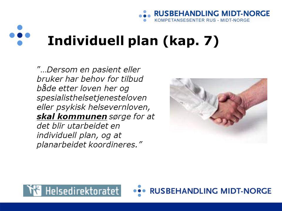 Individuell plan (kap.