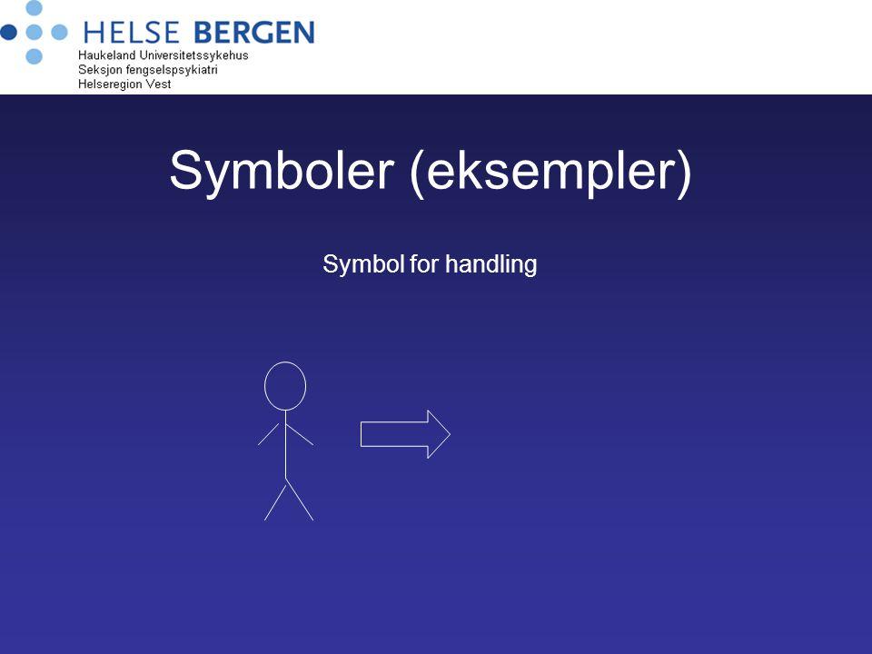 Symboler (eksempler) Symbol for handling