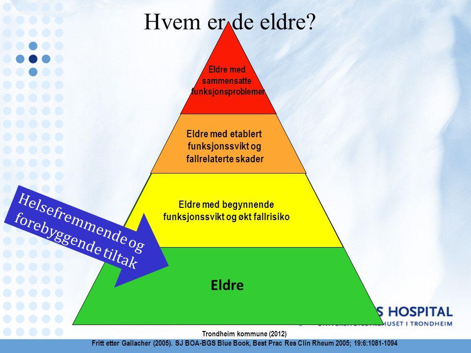 Forebyggende treningsgrupper 65+ i nærmiljø - Pilot i Sør-Trøndelag og Telemark HOVEDMÅL Utvikle en nasjonal modell for et strukturert samarbeid mellom offentlig og frivillig sektor for økt fysisk aktivitet for eldre 65+ i nærmiljøet.