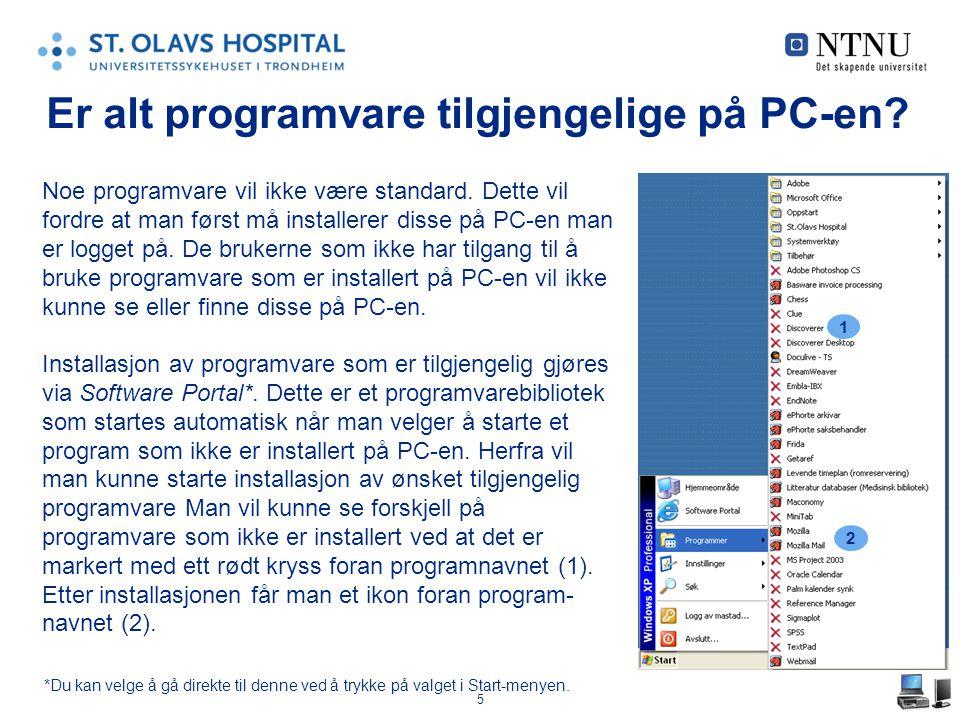 6 Hva er Software Portal.