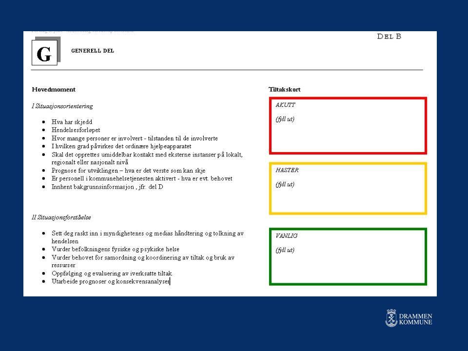 Smittevernplan for Drammen kommune