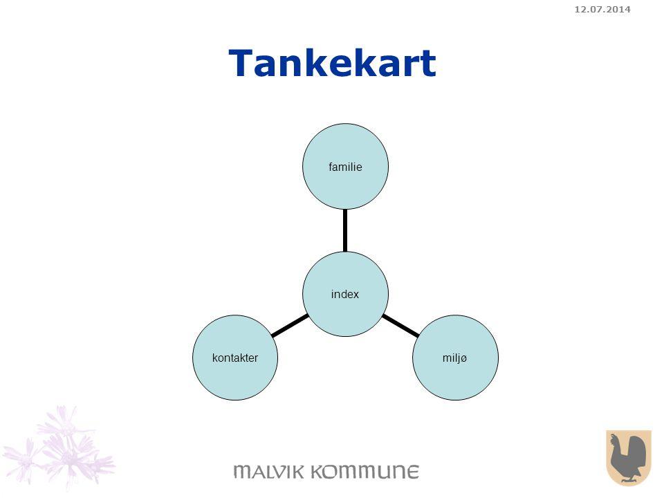 12.07.2014 Tankekart index familie miljøkontakter
