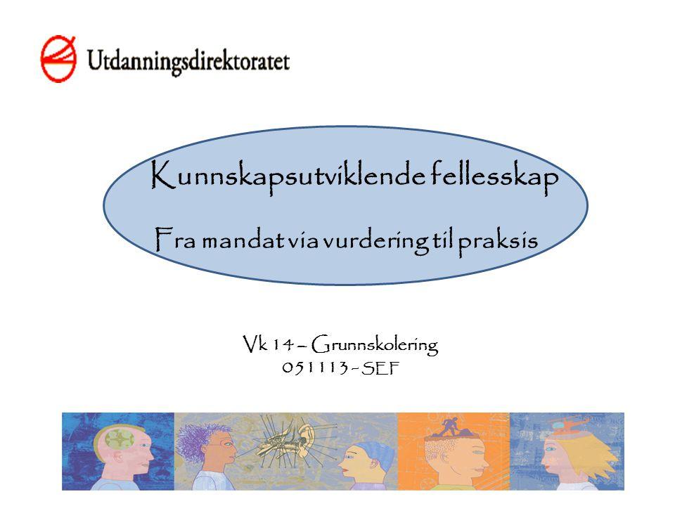 «Kvalitetsvurderings- systemets viktigste funksjon er å være til nytte for skolene og skoleeierne» (Side 147)