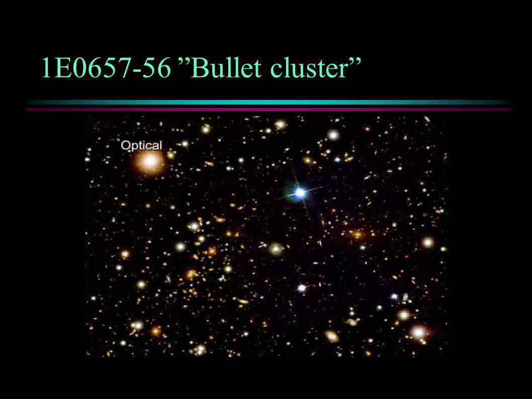 """1E0657-56 """"Bullet cluster"""""""