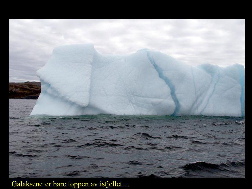 Coma-hopen (Abell 1656) Galaksene er bare toppen av isfjellet…